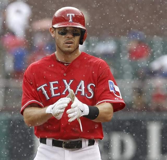 Texas Rangers Second Baseman Ian Kinsler