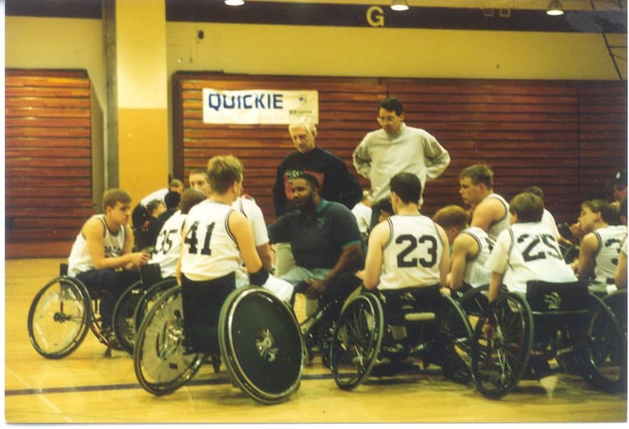 Horizon wheelchair basketballl