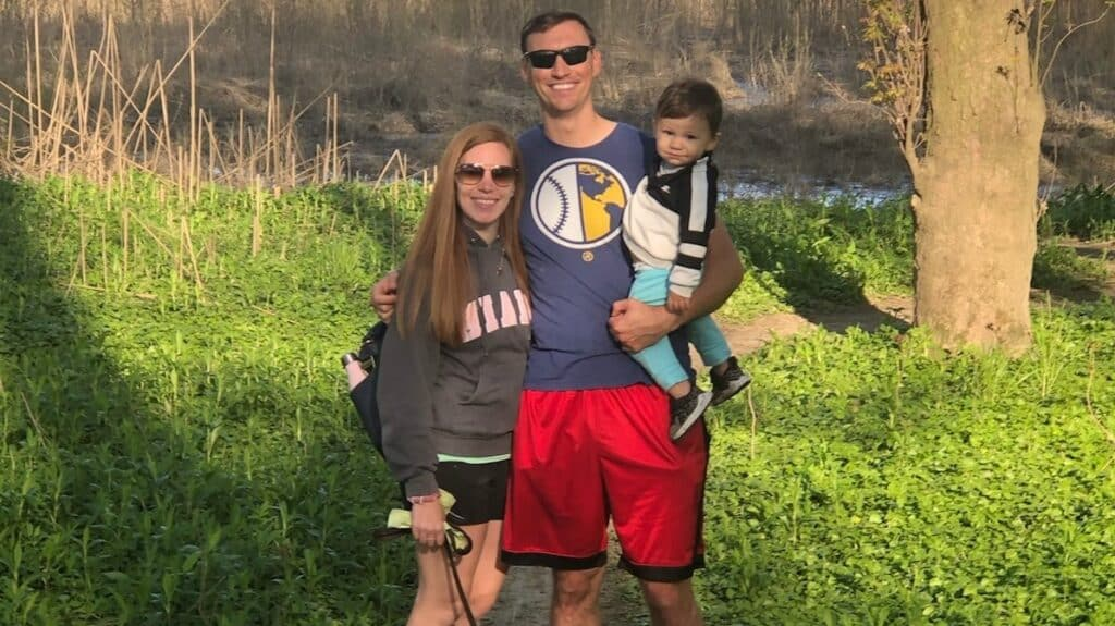 Brent Suter family
