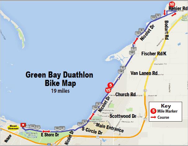 duathlon bike map