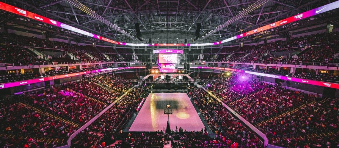 Unsplash - Basketball arena