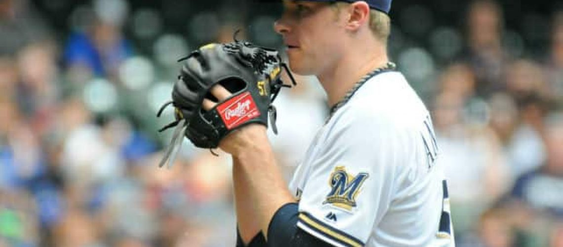 Brewers - Chase Anderson